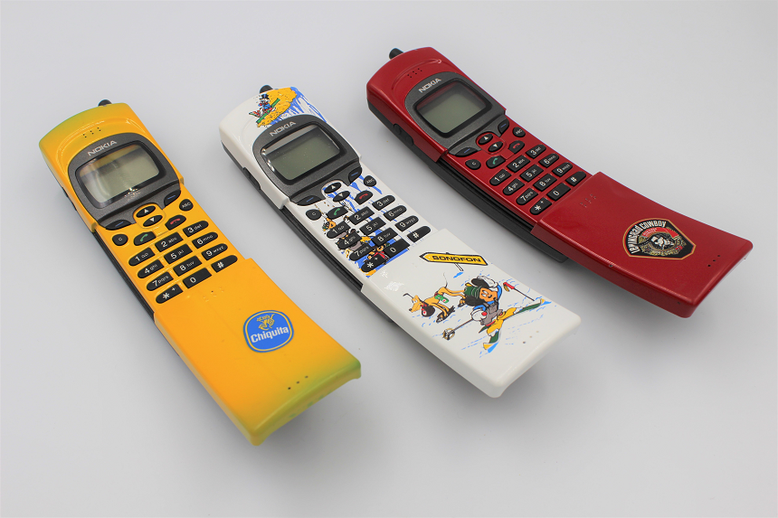 Phones can be bright and colorful…