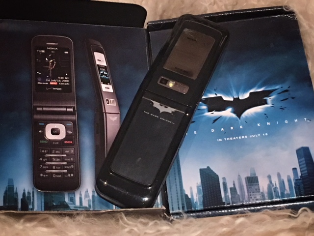 Nokia 6205 The Dark Knight edition
